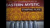 MOYRA STAMPING PLATE 39 EASTERN MYSTIC_