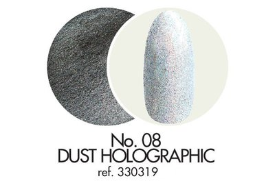 Dust Holographic Glitter No. 08